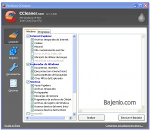 Screenshot CCleaner 1