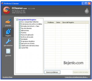 Screenshot CCleaner 2