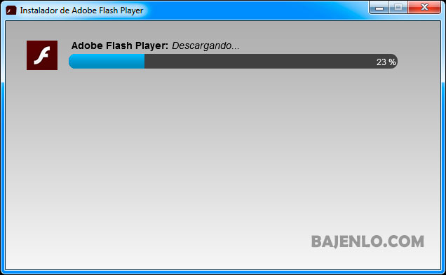 adobe flash instalador web